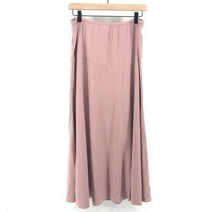 J. Jill Cotton Blend Long Skirt Size Medium